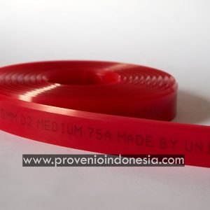 Karet Rakel Squeegee Rubber Provenio Indonesia Peralatan Perlengkapan Sablon Jakarta