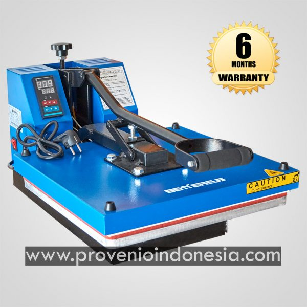Mesin Heat Press Kaos Machine 38x38 Perlengkapan Peralatan Sablon Provenio Indonesia
