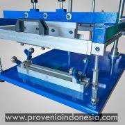 Perlengkapan Peralatan Mesin Sablon Manual Botol Gelas Provenio Indonesia
