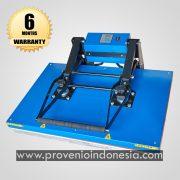 Mesin Heat Press Kaos Besar Jumbo 90x60 60x90 Perlengkapan Peralatan Sablon Plastisol Digital Polyflex Sublim Sublimasi Jersey Provenio Indonesia
