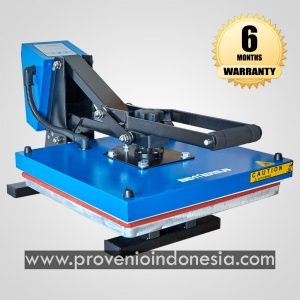 Mesin Heat Press Kaos Machine 38x38 Perlengkapan Peralatan Sablon Plastisol Digital Polyflex Provenio Indonesia