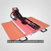 Mesin Heat Press Machine Kaos 40x60 2 Meja High Pressure Provenio Indonesia Jakarta JC5 Double