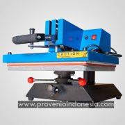 Mesin Heat Press Kaos Swing Machine 38x38 Perlengkapan Peralatan Sablon Plastisol Digital Polyflex Provenio Indonesia