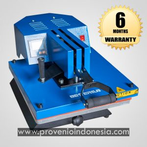 Mesin Heat Press Kaos Swing Machine 38x38 Perlengkapan Peralatan Sablon Plastisol Digital Polyflex Provenio Indonesia